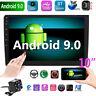 "10"" 2-Din Android 9.0 Car MP5 Player Pantalla Táctil Radio Estereo GPS WIFI Cam"