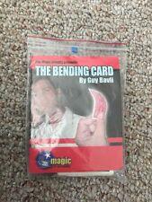 Guy Bavli - The Bending Card - Rare Professional Magic