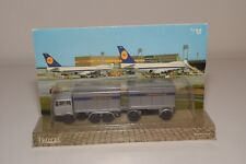 V 1:64 EFSI MERCEDES-BENZ TRUCK WITH TRAILER LUFTHANSA CARGO MINT BOXED