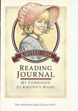 PLEASANT COMPANY KIRSTEN READING JOURNAL! ACTIVITES FOR 5 BOOKS! RETIRED~1992