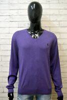 RALPH LAUREN Maglione Uomo Taglia XL Pullover Maglia Sweater Man Cardigan Felpa