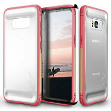 Samsung Galaxy S8 Plus Case, Zizo FLUX Series w/ Screen Protector-Clear Back S8+