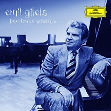 Emil Gilels - Beethoven: The Pianio Snts (NEW CD)