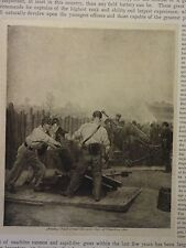 """Great B/W Print - """"Artillery: ., 1864"""", Published in 1890 by G.B."""