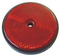 Reflektoren Rückstrahler Katzenaugen Reflektor rot Einfahrt Markierung ✔