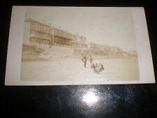 Cdv photograph Clifton Villas Sandown Isle of Wight by Symonds Portsmouth 1860s
