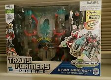 Transformers Prime Star Hammer with Wheeljack