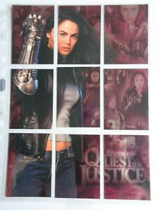 Witchblade Quest For Justice    01-09     9 Card Chase Set