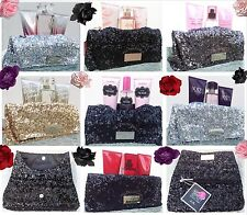 1 VICTORIAS SECRET GLAMOUR GLITTER SEQUIN PARTY GIFT BAG BAG CLUTCH YOU CHOOSE