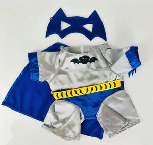Adorable Bat SuperHero Costume Fits Most 16 inch Build A Bear and Make Your Own