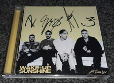 ALL TIME LOW - WAKE UP, SUNSHINE   SIGNED / AUTOGRAPHED 2020 CD ALBUM, NEW