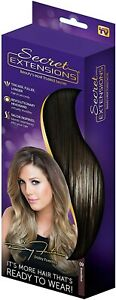 Secret Extensions Hair Extensions by Daisy Fuentes Beauty 09 Brown/Black