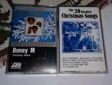 Boney M Christmas Cassettes Lot 2