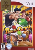NINTENDO WII VIDEO GAME PUNCH OUT BRAND NEW AND FACTORY SEALED