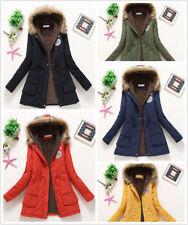 Para mujeres Largo con Capucha Abrigo Chaqueta De Invierno Cálido Abrigo Prendas de abrigo impermeable a prueba de viento