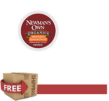 DAILY DEAL : Keurig 48 Count k-cups NEWMAN'S OWN SPECIAL BLEND DECAF Coffee
