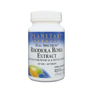 Planetary Herbals Full Spectrum Rhodiola Rosea Extract 327 mg 60 Tabs
