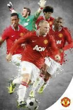 SOCCER POSTER Manchester United Players 2012 24x36 Poster Service