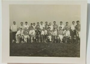 34653 Photo Field Hockey Sport Turn Club 1847 Hockey Team Before Gate Um 1930