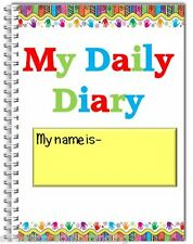 Childminder-Childcare provider A5 wire bound daily diary,includes100 diary pages