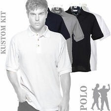 Polycotton Regular Collar Polo Casual Shirts for Men