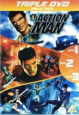 Action Man  - Triple Pack DVD - 13 Episodes on 3 DVD Discs - Brand New