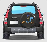 Spare Wheel Cover 4x4 Graphic Sticker ROAD RUNNER 500MM contour cut graphic