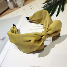 Fashion Women Rabbit Ears Bow Headband Hair Band Head Piece Hair Clip Jewelry