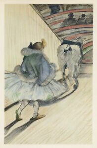 Toulouse-Lautrec Circus lithograph printed by Mourlot 45667214