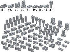 Lego - Technic - Small Parts - M28 - Verbinder (Neues Hellgrau)