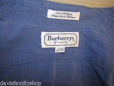Burberrys of London Burberry Button Up Shirt Size 15-33 100% Cotton