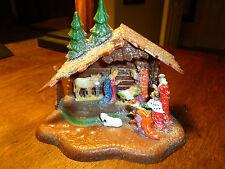 Vintage Miniature Plastic Nativity - Holy Family - Hong Kong 424E