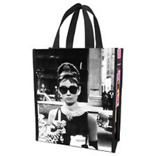 AUDREY HEPBURN SMALL SIZE SHOPPING BAG! Breakfast at Tiffany's! Classic Photo