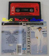 MC JULIO IGLESIAS Tutto l'amore che ti manca 1987 CBS Holland(*) no cd lp dvd*