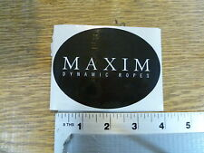 New England Ropes Maxim Oval Sticker Decal
