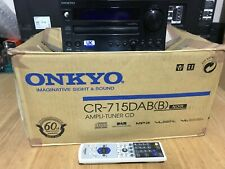 Onkyo CR-715DAB Black Excellent Condition
