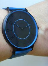 M&m Germany reloj fantastico m11870-987 - Bordes rectos colgante azul color blocking