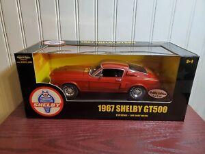 Ertl American Muscle 1967 Shelby Cobra GT-500 1:18 Diecast LE Hobby Edition Car