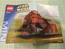 Lego Star Wars Mini Trade Federation MTT 4491, all pieces instructions, retired