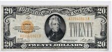$20 1928 GOLD CERTIFICATE  SERIES 1928 FR:2402 Very Nice ((Better Grade)) Note!