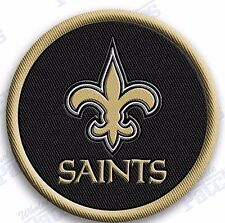 NEW ORLEANS SAINTS   iron on 100% embroidered PATCH NFL FOOTBALL PATCHES
