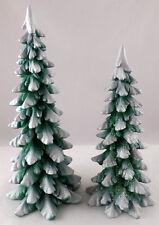 "52661 - Dept 56 ""Village Wintergreen Pines"" Set of 2"