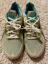 REEBOK Easy Tone Athletic Trainers Women's Size 8 White Teal 11-J16468