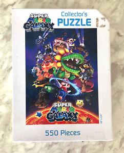 "Super Mario Galaxy Collector's Jigsaw Puzzle 550 Pieces 18"" X 24"" - Complete"