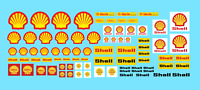 DECALS SHELL 1:43 1:32 1:24 DECALCOMANIE decal motor oil gasoline racing ca