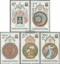 Czechoslovakia 2451-2455 (complete issue) unmounted mint / never hinged 1978 Sta