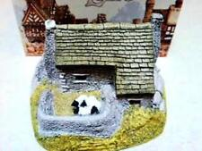 """Lilliput Lane Cottage """"The Croft with Sheep"""" In Box, Retired"""