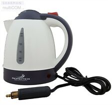 TK-408 24v Kettle with Hella Plug - truck lorry travel water boiler concealed
