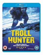 Troll Hunter BLU-RAY Region B New & Sealed Hologram slipcover