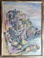 ::GÜNTER JANNASCH *1925 - 1962 DDR KÜNSTLER MANAROLA HAFEN °RIO MAGGIORE ITALY